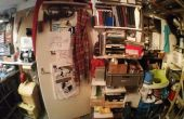 Mon espace de travail débordante grenier