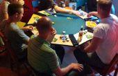 8 simple assise dessus de Table de Poker avec éclairage