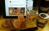 Miel, citron & gingembre thé