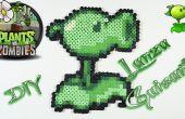 Plantes VS zombies Lanza pois avec les perles Hama bricolage