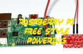 RASPBERRY PI FREE STYLE mise sous tension (RPI POWER SUPPLY HACK)