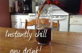 Comment refroidir instantanément n'importe quelle boisson !