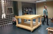 Makerspace Workbench sur roues