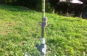 Montage d'une caméra de vidéo « Espion » fusée Air comprimé