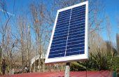 IMPIANTO fotovoltaico manière autonome (stand-alone photovoltaïque plante)