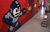 Mega Man 8-bit Mega murale de carreaux de céramique