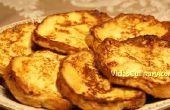 Recette de pain grillé Français
