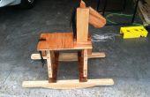 Cheval à bascule palette Art : Comment faire votre propre cheval à bascule rustique