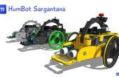 Arduino 3D robot imprimé : Humbot Sargantana