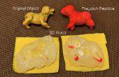 Moules 3D colle chaude pour les modèles de pâte Play - FAIL