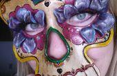 Sugar Skull masque de cuir