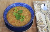 Soupe de lentilles coco Curry
