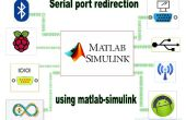 Bluetooth - redirection du port série à l'aide de matlab/simulink