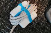 Bracelets en caoutchouc garder votre câble d'alimentation organisé