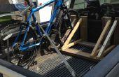 Porte-vélos bois