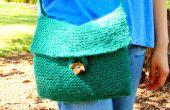 Sac à bandoulière en tricot facile