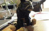 Monde de Warcraft animal en peluche de papercraft