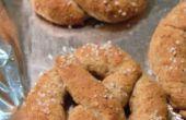 Bretzels de blé entier