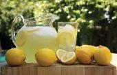 Comment faire de la limonade