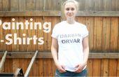 Comment bricolage peinture T-shirts