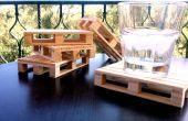 Les sous-verres bricolage Mini palette