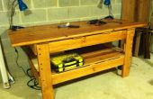 Upcycled lit superposé Workbench