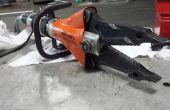 Holmatro nettoyage et Inspection sur l'outil de coupe