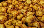 Pommes de terre à l'ail et romarin rôties