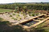 Hydroponique Bog Garden (recyclage de l'eau)