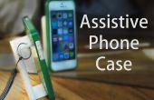 Etui de téléphone d'assistance pour la dextérité limitée