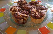 Muffins de nourriture du diable citrouille diabolique