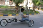 Solar powered Trike Reverse