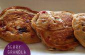 Granola Berry crêpes recette