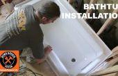 Comment installer une baignoire (fais il ROCK SOLID)
