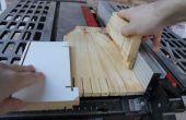 Mieux de Table scie poussoir de morceau de bois