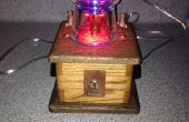 Lampe de table de mixage steampunk LED couleur