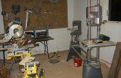 Mon espace de travail ; Atelier de menuiserie !