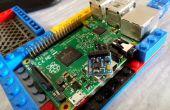 Entoilage-boussole numérique (HMC5883L) avec Raspberry Pi 2 à l'aide de Python3