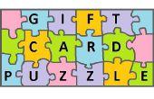 Cadeau carte Puzzle!!!
