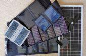 Construction d'une batterie de 12V alimentation solaire