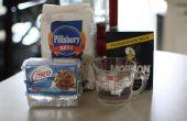 Comment faire d'argile de farine et crisco