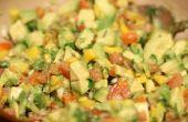 Salsa à la mangue salade
