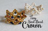 Petite couronne perlée ¦ le coin de Craft