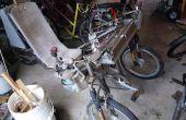 Contrôleur de moteur électrique têtard allongé Full Suspension Trike avec bricolage titane