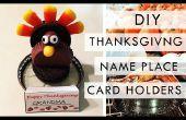 BRICOLAGE : Thanksgiving nom Place porte-cartes