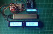Bibliothèque de pilote LCD Arduino I2C et PackMan