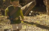 Le Littlest lien - Kid Legend of Zelda Costume