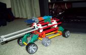 Knex 6 roues voiture/jeep