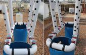 Construire une verticale aquaponique veggie & pisciculture pour petits yards & maisons