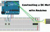 Commander un moteur à courant continu avec Arduino